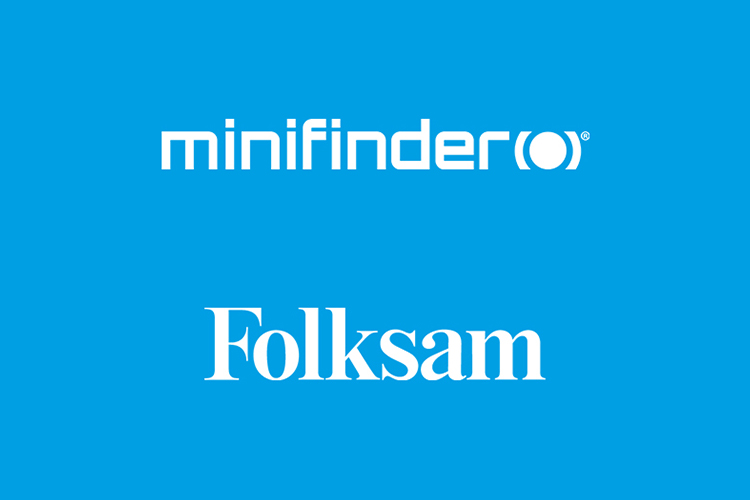 Folksam recommends the GPS alarm of MiniFinder!