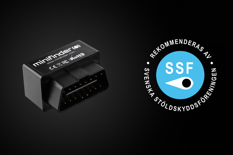 MiniFinder Zepto GPS tracker approved by SSF